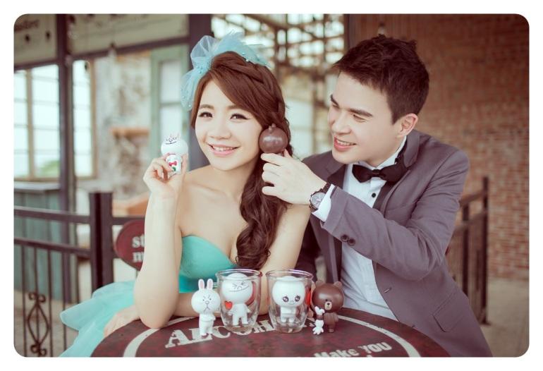 小品浪漫婚紗照-台北婚攝JONNY