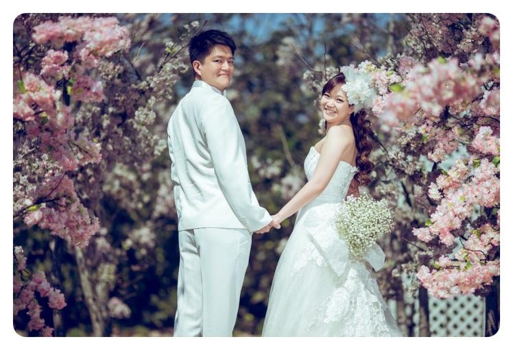 花樹下浪漫婚紗照-台北婚攝Jonny