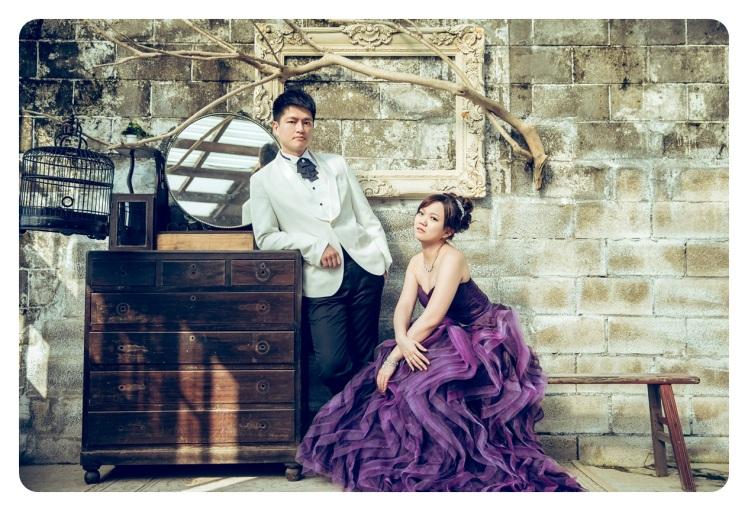 復古風格婚紗照-婚攝jonny