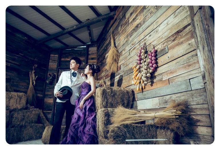 復古穀倉風格婚紗照-婚攝jonny